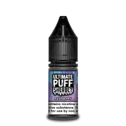 Ultimate Puff Sherbet 50-50 Raspberry 10ml