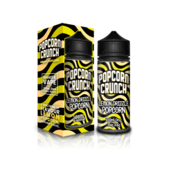 Lemon Drizzle popcorn crunch 100ml shortfill