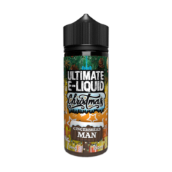 Ultimate E-Liquid Christmas 100ml Gingerbread Man