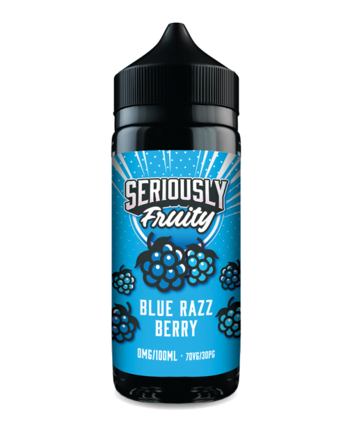 BLue razz berry by Seriously fruity doozy vape shortfill